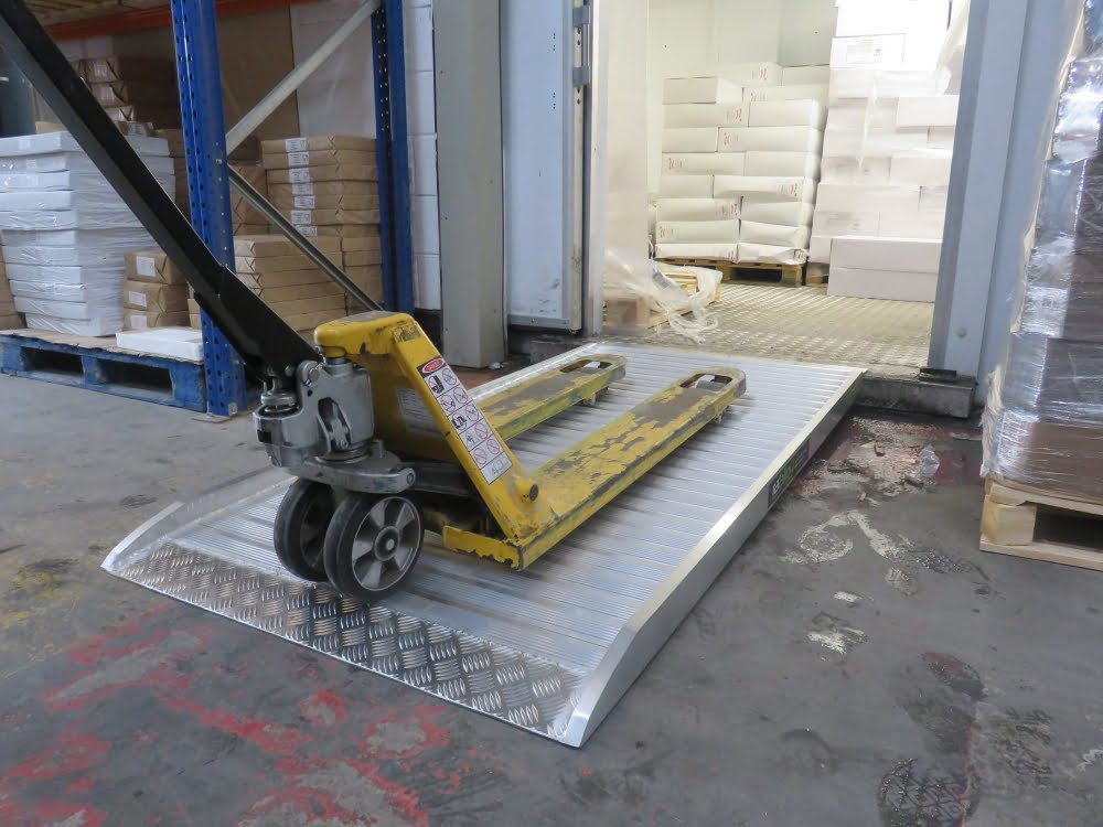 Flat Top Container ramp